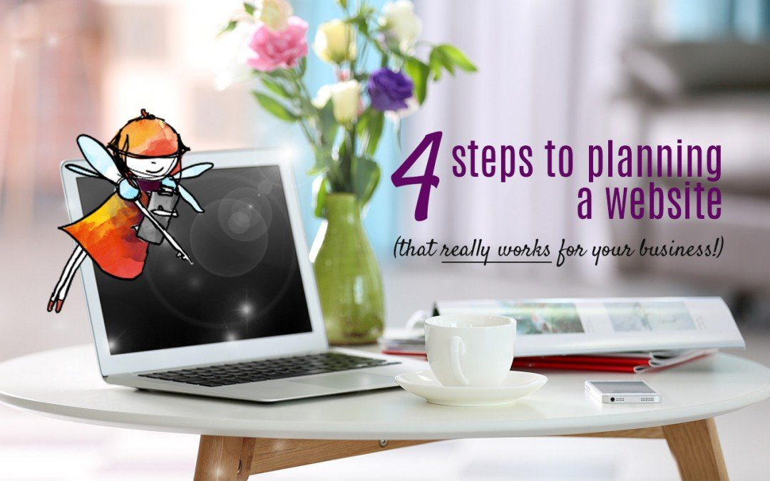 4 easy steps to planning a new website (that really works for your business)
