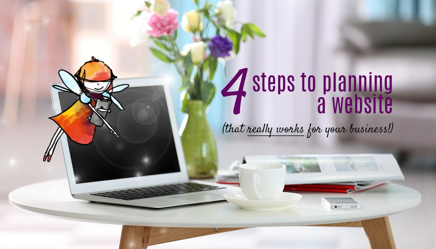 4 steps to planning a new website