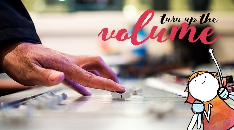 Turn up the volume in your business branding