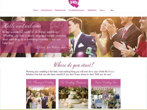 The Wedding Guide UK Branding and Website Design
