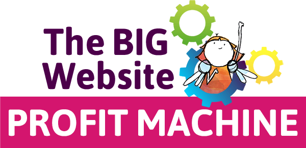 The Big Website Profit Machine logo