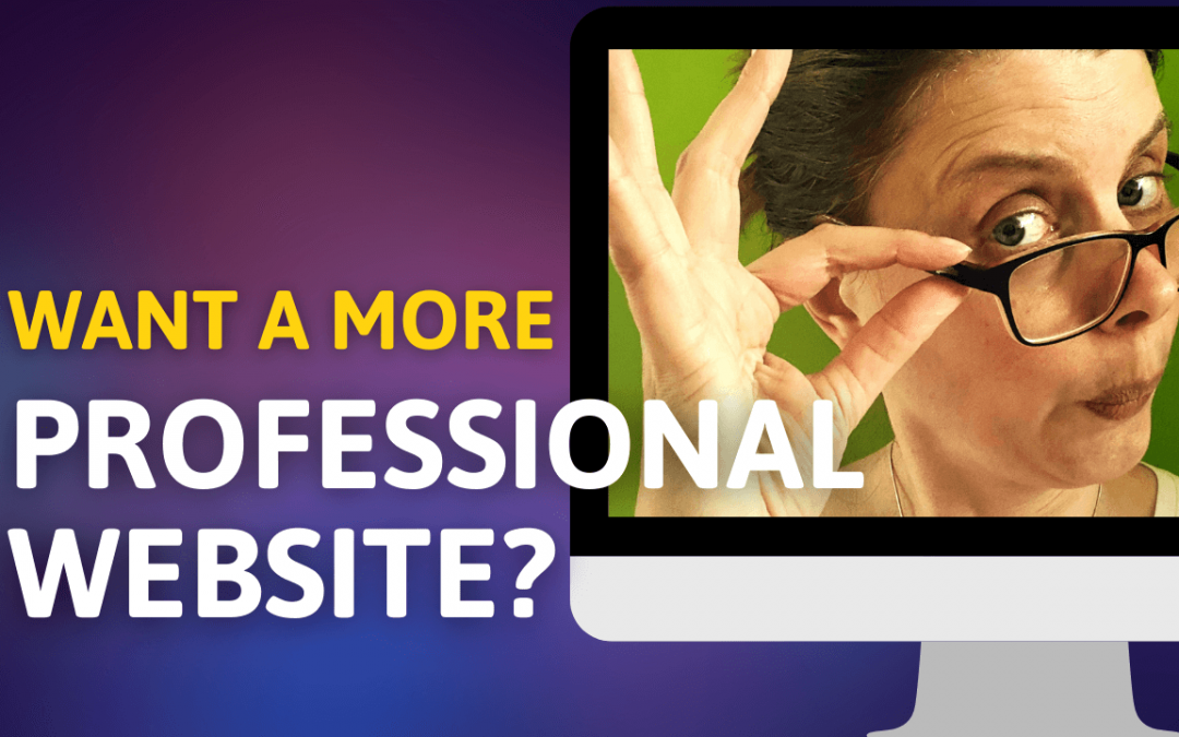 10 ways to make your website look more professional